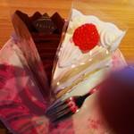 Fujiyaresutoran - ショートとチョコは王道