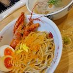 福島壱麺 - 伊勢海老カラスミのっけ麺