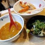 福島壱麺 - 伊勢海老カラスミのっけ麺-わさび飯追加