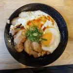 福島壱麺 - チャーシューエッグ