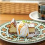ウニ カフェ - ベイクドチーズケーキ