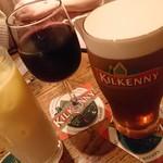 アイリッシュパブグリーンヒルズ - お飲み物達~ 彼女さんが飲んでた飲み物だけわかりません(笑)