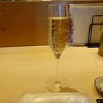 101288544 - ランチドリンク グラスシャンパン500円(税抜)
