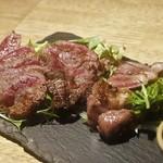 101289922 - ◆滋賀県産の近江牛の肉盛り合わせ(3種) 1,890円(税別)