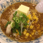 麺屋 壱力本舗 - 味噌バターコーンラーメン(2019.02.現在)