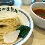 心の味製麺 - 豚バラのトマト煮ソースのつけ麺 950円