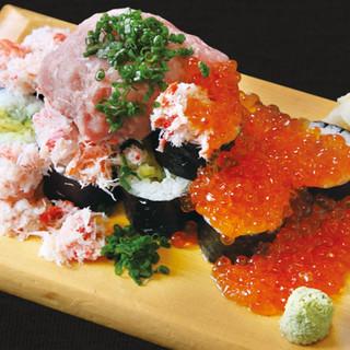 コスパ◎こぼれ巻き寿司♪♪