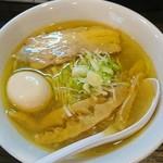 麺堂稲葉Kuki Style - 味玉らーめん(塩)