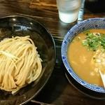 麺堂稲葉Kuki Style - 鶏白湯つけめん(醤油)