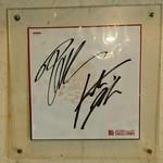 麺堂稲葉Kuki Style - サイン