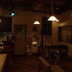 ルービックハウス - ★カウンターから見た店内★