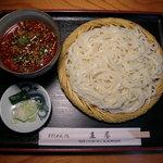 麻屋 - 料理写真:牛すじ肉ピリから汁うどん