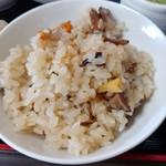 101304769 - 山菜炊き込みご飯
