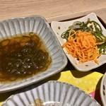 オルソ オキナワ - OKINAWA KITCHENセット(\1,500) もずく、小鉢