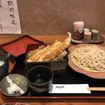 魚菜酒蔵 だいがく - 穴子天丼定食1000円をいただきます(2019.2.4)