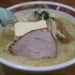 味の札幌 - 味噌カレー牛乳ラーメン(800円)