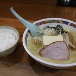 味の札幌 - ライス(100円)も一緒に^ - ^