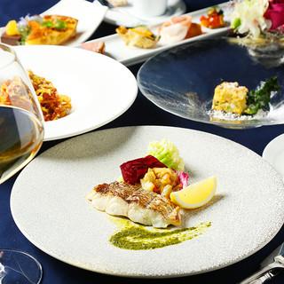 厳選食材から生み出される本格イタリア料理