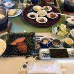旅荘 海の蝶 - 朝食