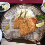 箱根カントリー倶楽部 - 料理写真:アジフライ定食