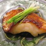 Aji Fukushima - ノドクロの柚庵焼き