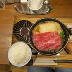 101317677 - すきやき定食 1,188円(税込)
