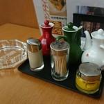 中国料理太湖飯店 - 灰皿はいらないね