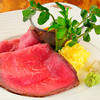 DININGあじと - 料理写真:特製ローストビーフ_2枚_アラカルト