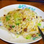中華料理 香満園 - 叉焼入りレタスチャーハン
