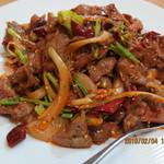 Koufukuen - ラム肉のクミン炒め(孜然羊肉)