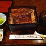 うなぎの伸栄丸 - 料理写真:うな重上 割きたて・関西風調理