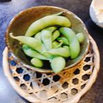 呑兵衛 - お通しの枝豆