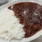 菊屋食堂 - ビーフカレー(中盛 2辛)