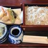 一刀手打ちそば 岩井更科 - 料理写真:更科御前せいろと天ぷら