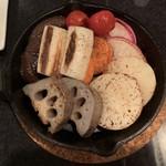 近江牛と有機野菜の呑処 ひだまり - 焼き野菜