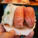 湯島庵 - 珠玉の三種盛り900円