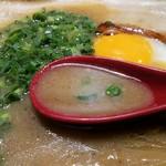 焼麺 劔 - トロンとした豚骨ベジポタスープ