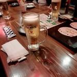 東京下町やきとん もつやきのんき - 今日は会食
