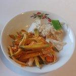 香港園 - 前菜(3,465円ランチコース)