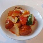 香港園 - 酢豚(3,465円ランチコース)