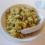 香港園 - 高菜チャーハン(3,465円ランチコース)