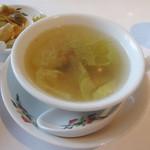 香港園 - スープ(3,465円ランチコース)