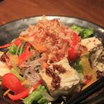 福の花 - 豆腐サラダ