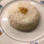 ラティーノ - レディース少なめライス フライドオニオンがカリッと美味しい