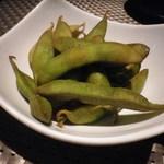 101338115 - 枝豆の燻製
