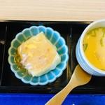 Wadokoroirori - 茶碗蒸しと小鉢