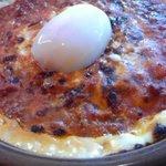 サイゼリヤ - 半熟卵ミラノ風ドリア