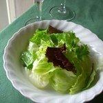 カレント - ランチのサラダ