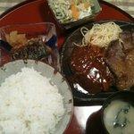 キッチン 秋津 - 日替わり定食(800円)