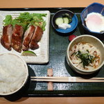 10134985 - 鶏のもろみ焼き定食(980円)